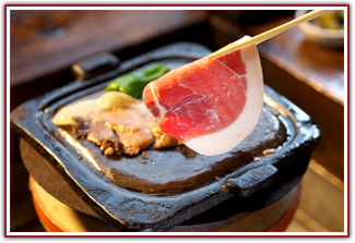猪肉の焼肉